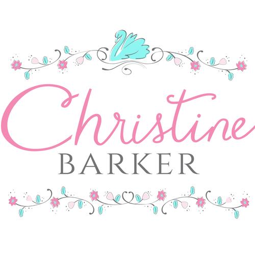 Create a whimsical, eye-catching logo for Christine Barker