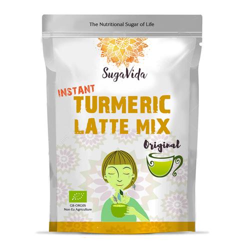 Turmeric latte mixtures packaging