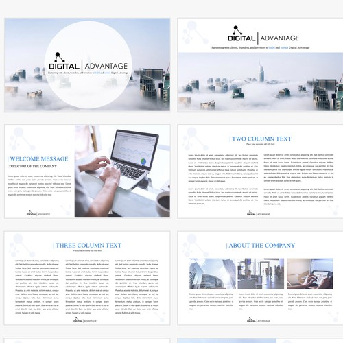 Presentation Concept for Digital Advantage
