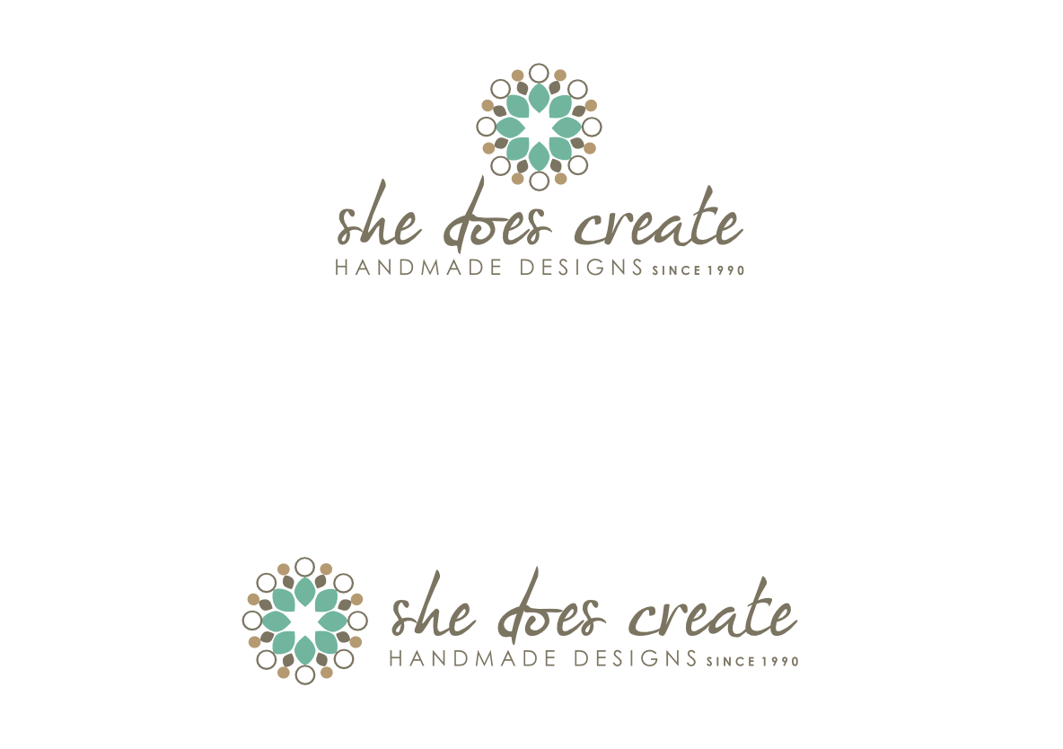 logo for She Does Create