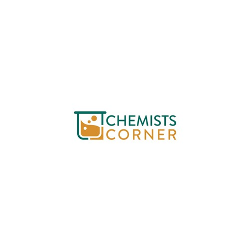 Winning design for a chemistry organisation