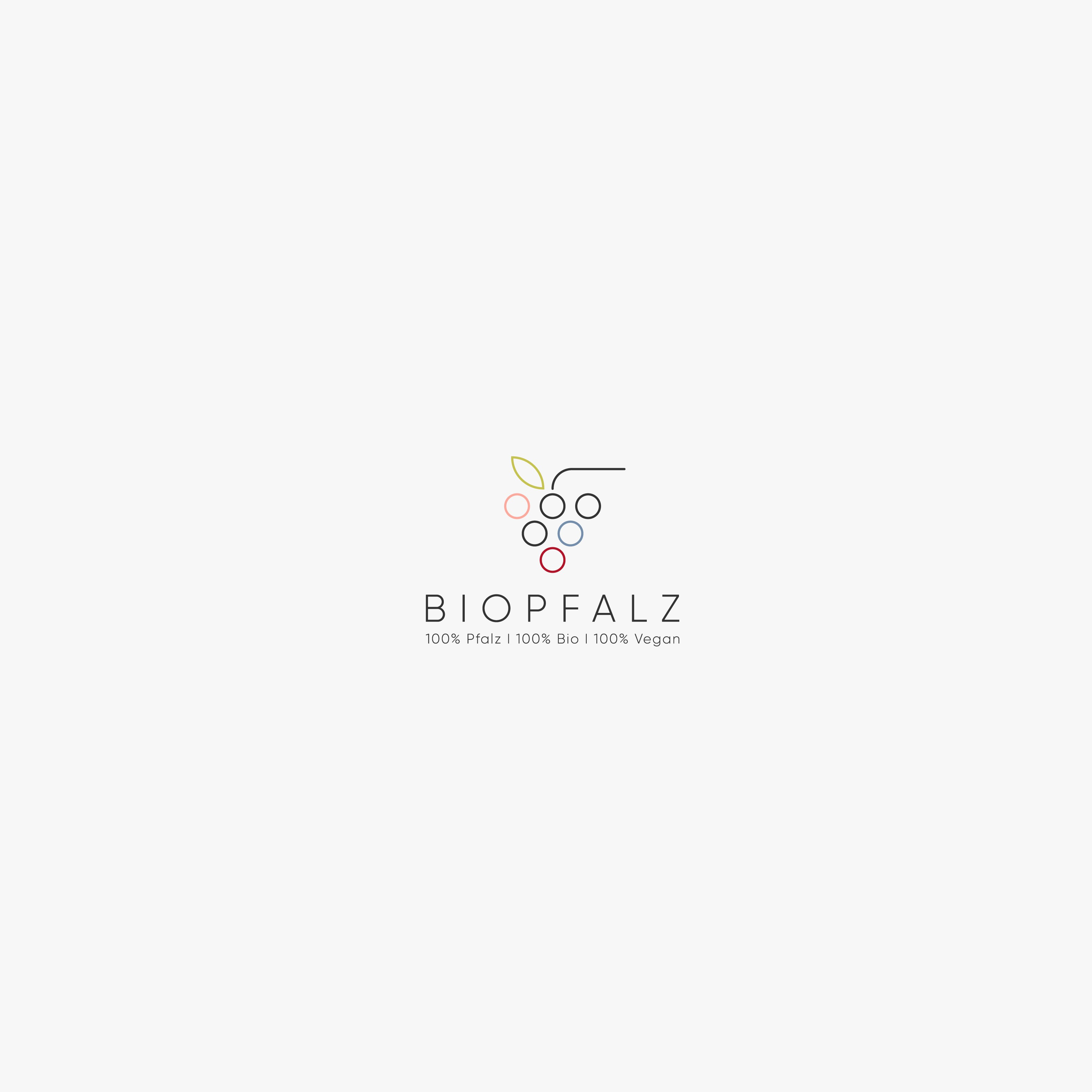 "The new wine onlineshop ""Biopfalz"" needs a logo. We sell only organic and vegan wine."