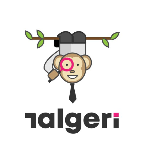 Fun and cute money mascot logo