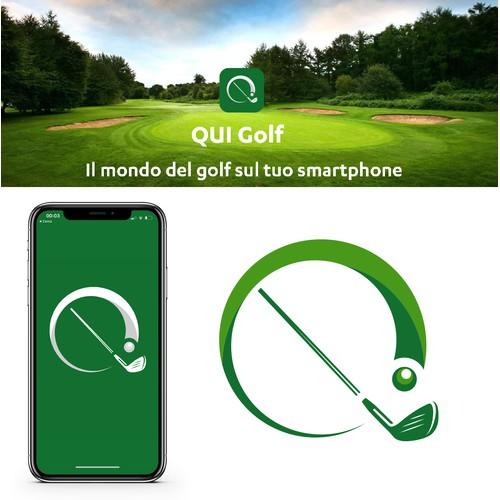 App icon design for golf app