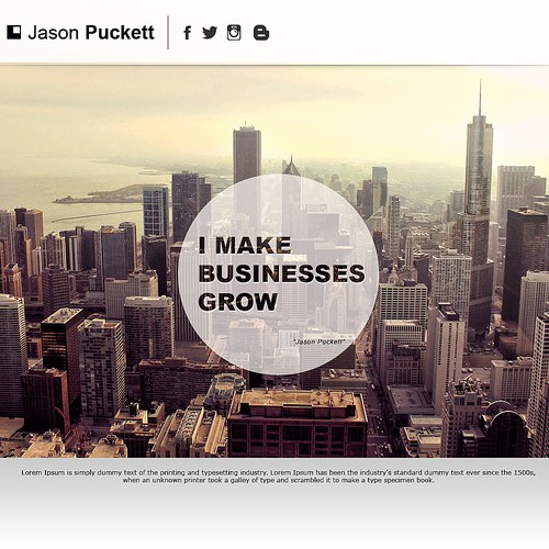 website design for jpuck.com