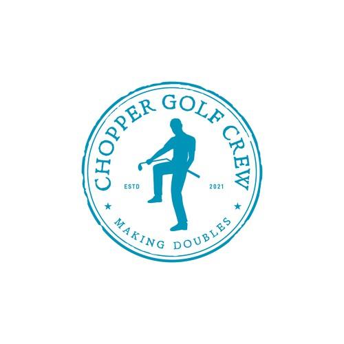 Stamp Logo. Round Logo. Circle Logo. Badge Logo. Minimal Logo for Golf Club