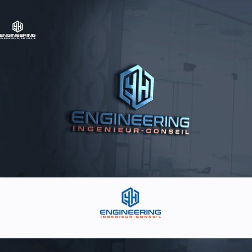 Créer logo moderne ingénieur-conseil en construction