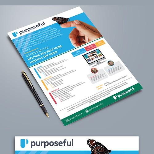 1 pg print design