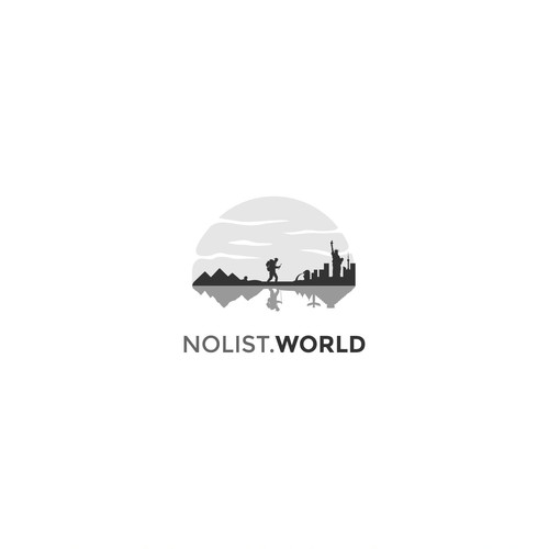 Deep meaning logo for Nolist World