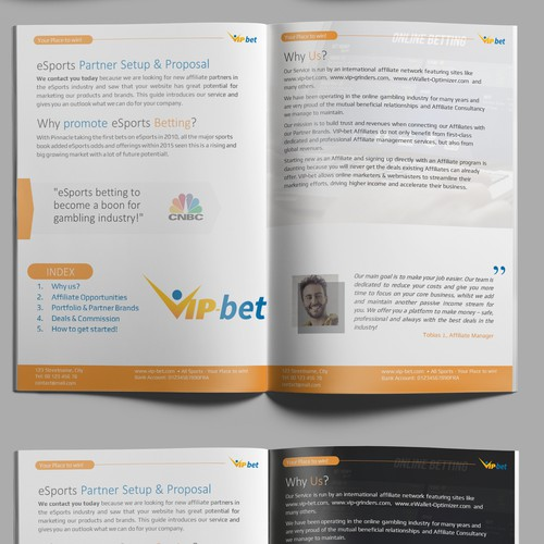 Engaging Brochure design