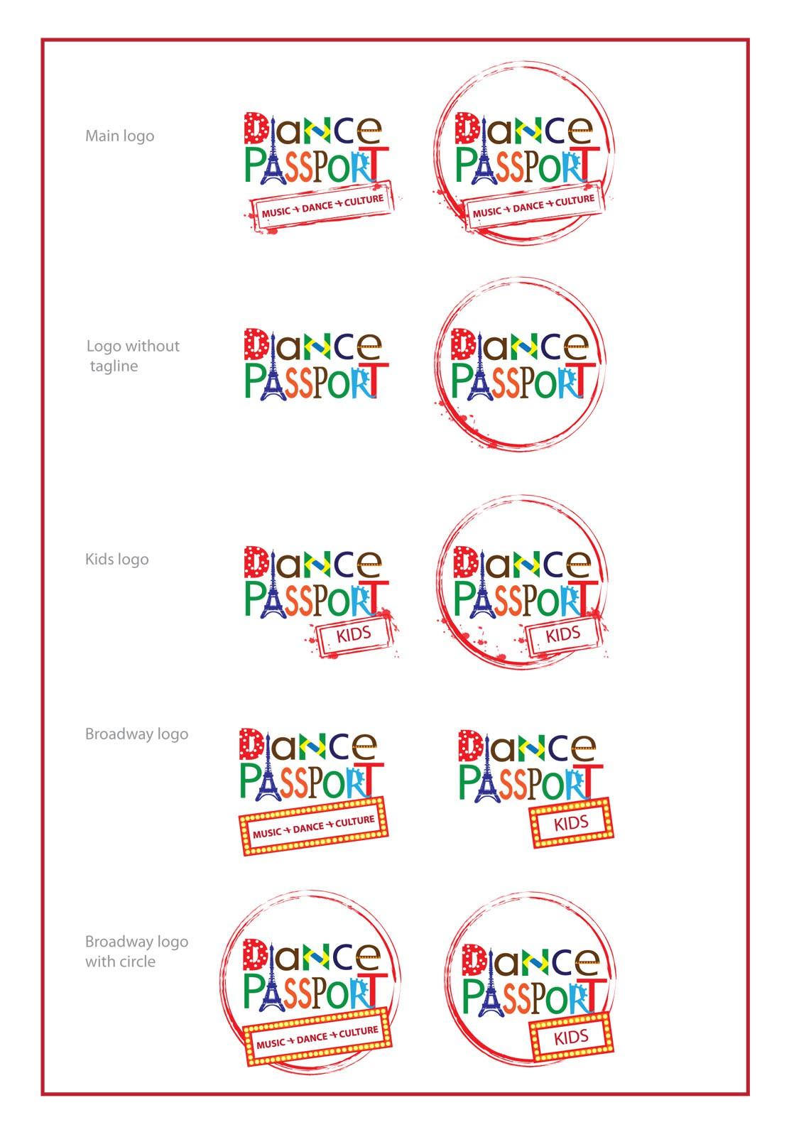 Create the next logo for Dance Passport