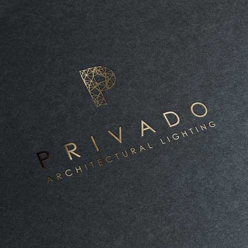 Create a luxurious logo for Privado.