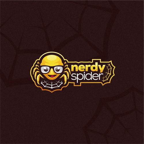 Nerdy Spider Logo