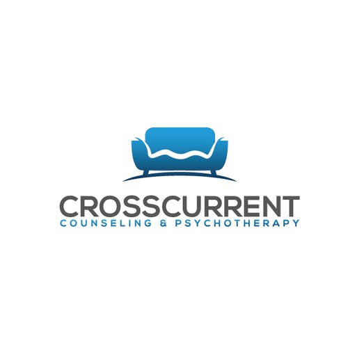 Bold logo concept for CROSSCURRENT