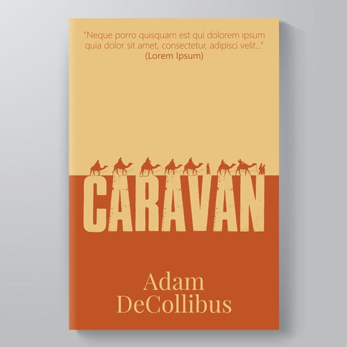Book Cover Design for CARAVAN