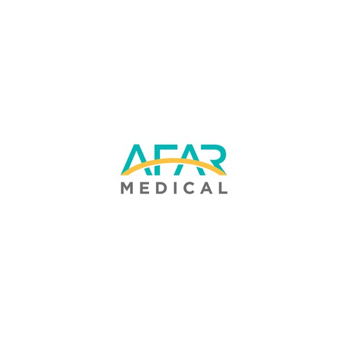 Afar Medical logo design