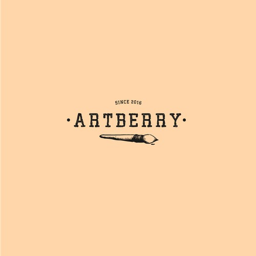 Simple Vintage logo for Artberry