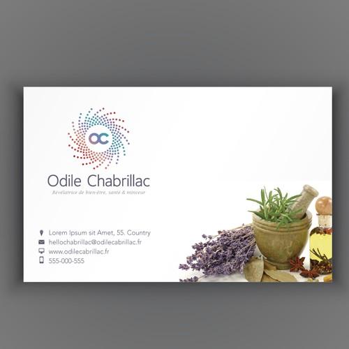 Odile Chabrillac design logo