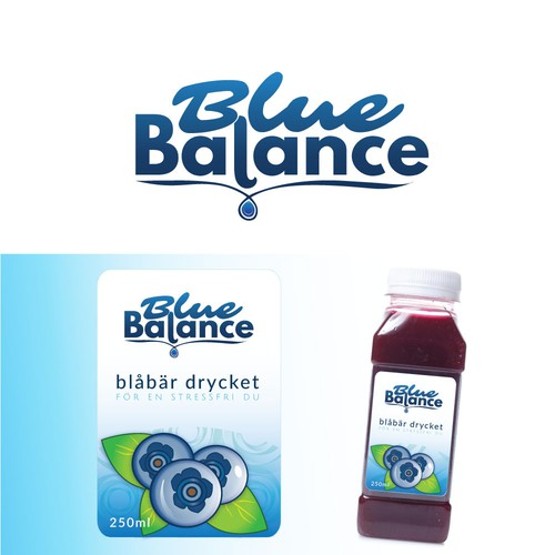 Logo and Label for Health Drink