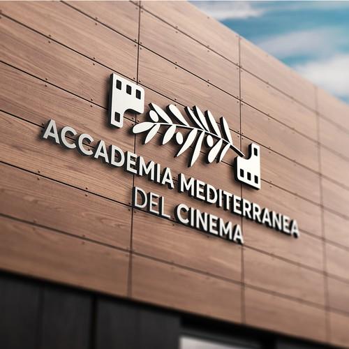 Logo for film school in city of Bari, Italy