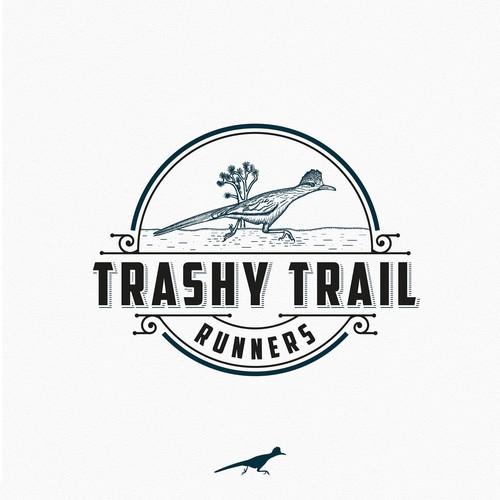 Trashy trail runners
