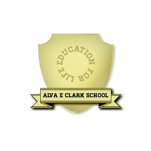 Create the next logo for Alva E Clark School