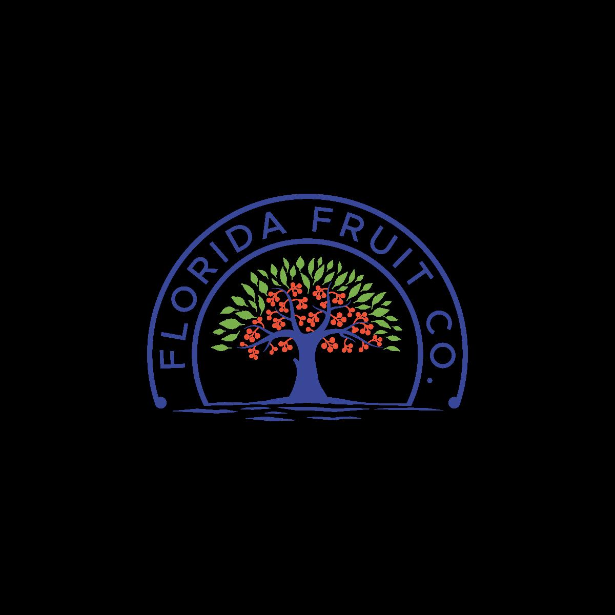 Logo for an organic juice company