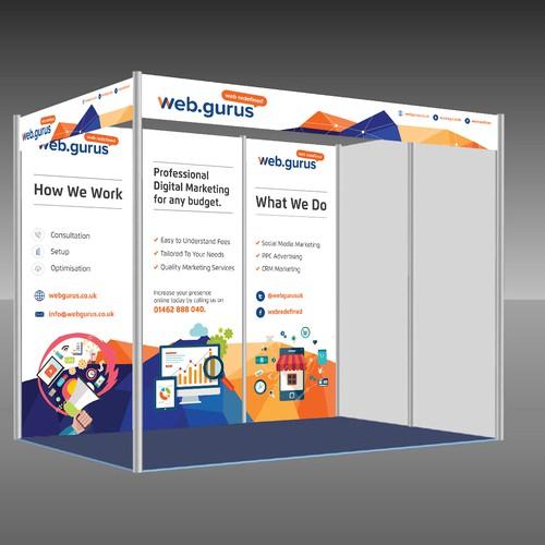 Web Gurus booth