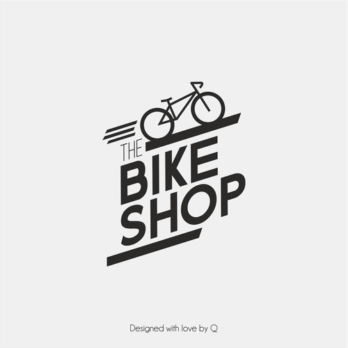 Clean Logo for Bike Shop