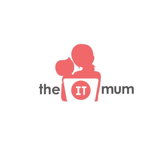 the IT mum Logo