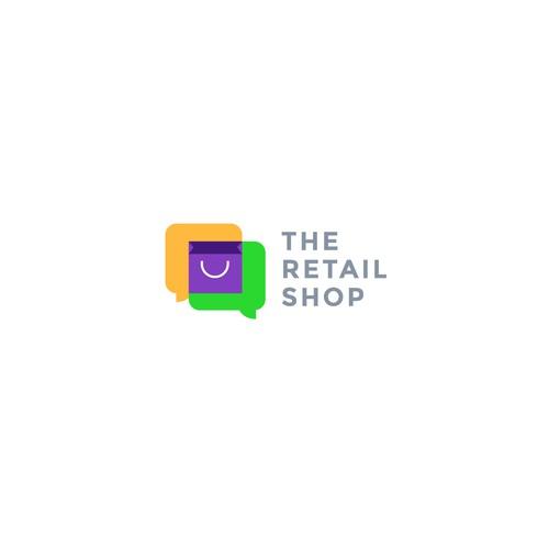 logo concept for the retail shop