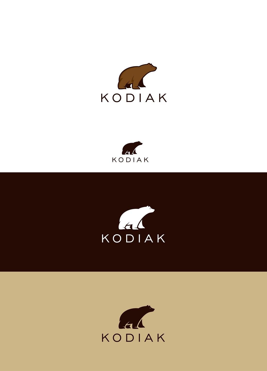 Create a great new logo for a new web company Kodiak