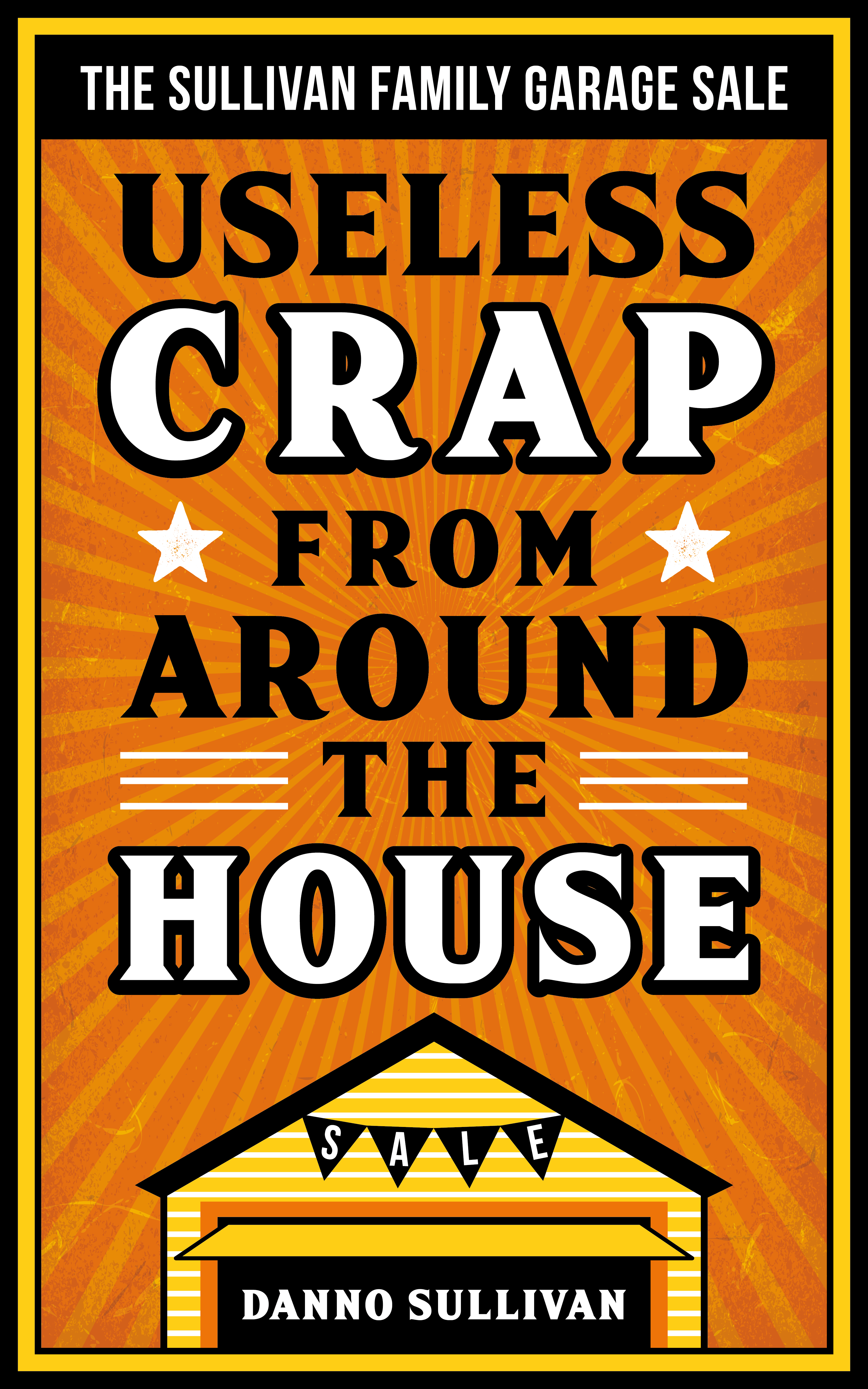 Need a fun, vintage style cover for comedy book