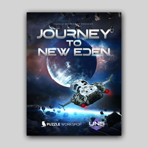 Space Themed Poster Design