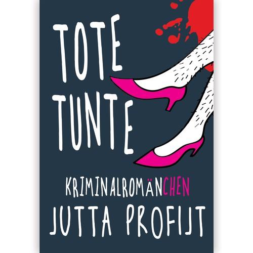 Black humour crime novel