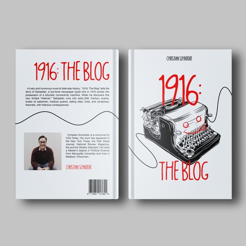 Cover book novel for 1916: The Book