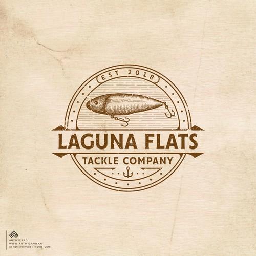 Vintage Logo for Laguna Flats