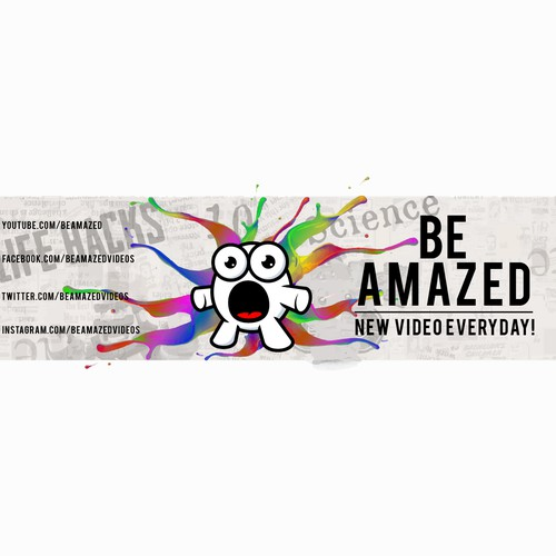 Be Amazed Banner