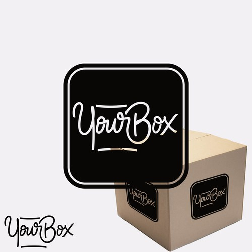 Lettering Logo for YourBox