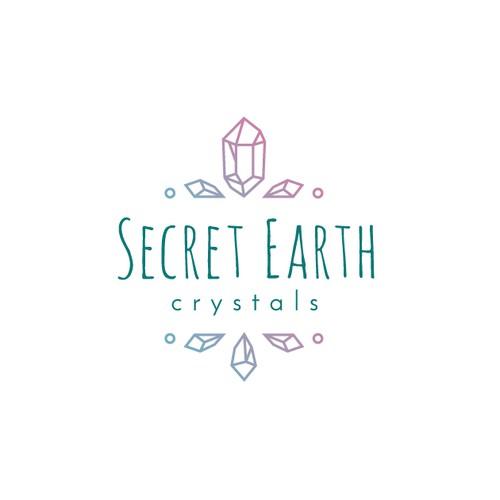 Logo Concept for Secret Earth Crystals