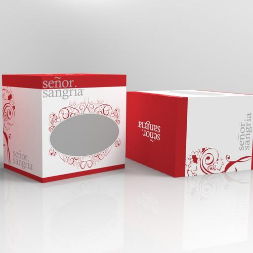 Señor Sangria Shipper/Case Design