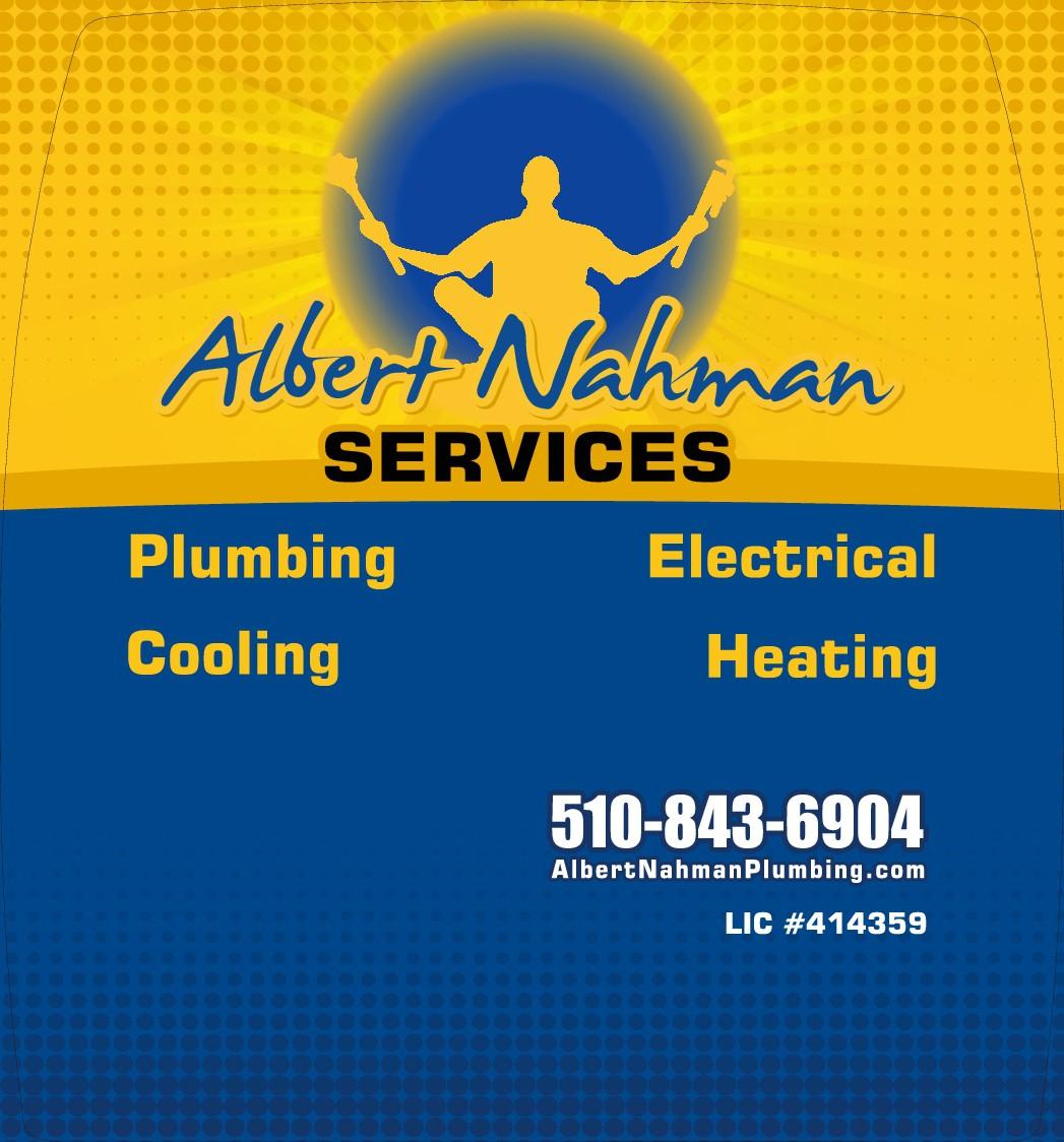 Albert Nahman Plumbing and Heating Home Services Company Needs a Refresh on Van Wrap