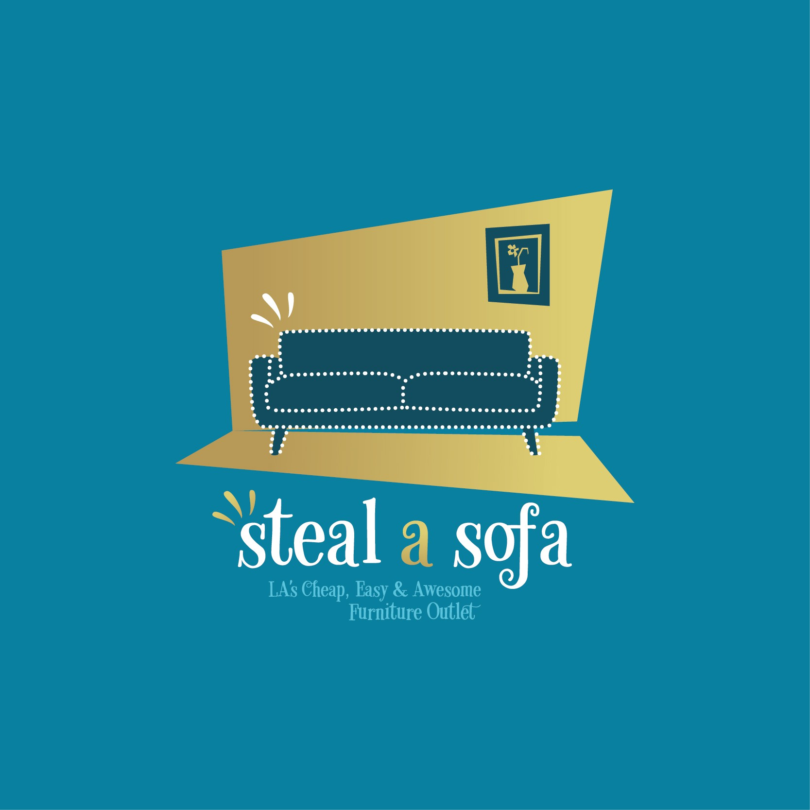 Edgy & Fun Logo Needed for Steal-A-Sofa Furniture Store