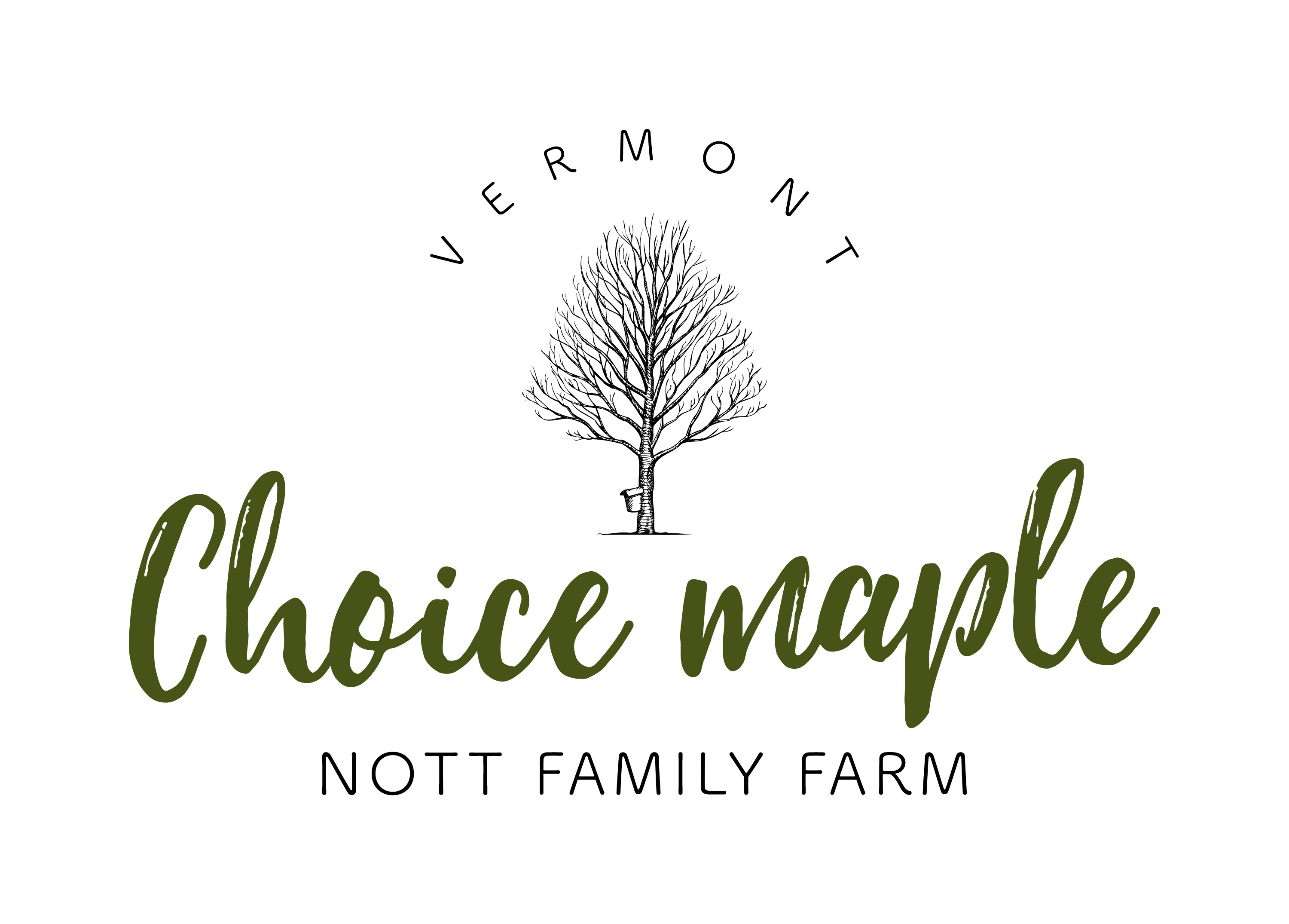 Design a clean and sophisticated logo for Choice Maple.