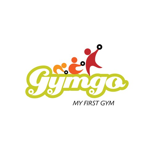 Logo for a kids fitness center