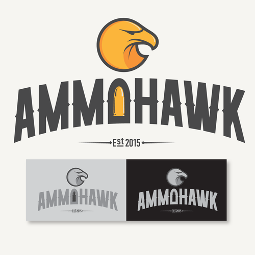 Logo concept ammo selling