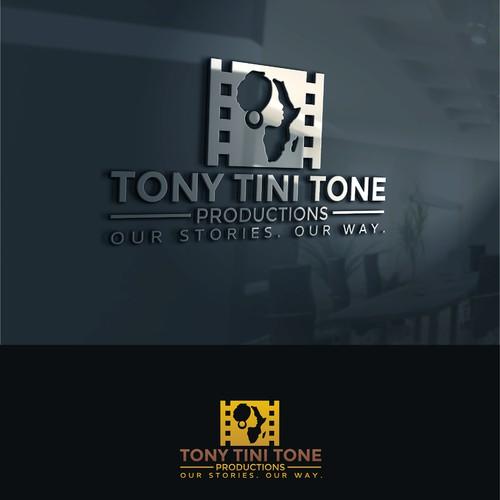 Classy logo for Tony Tini Tone