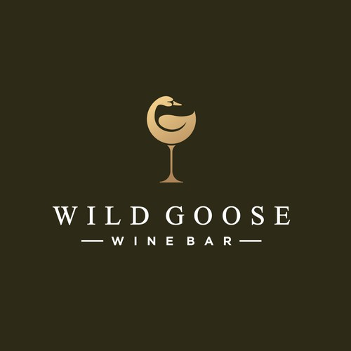 Design a logo for a relaxed luxury wine bar in beach town