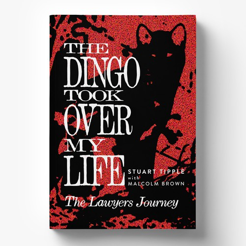 Book Cover Design for Famous Australian Dingo Story