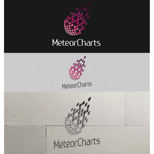 Design a logo that takes MeteorCharts to the next level